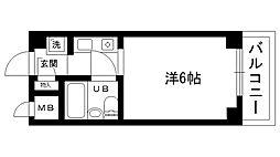 三耕マンション[309号室]の間取り