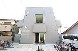 大阪府東大阪市柏田西1丁目の賃貸アパートの外観