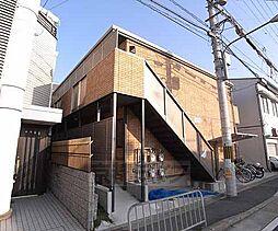 京都府京都市伏見区深草森吉町の賃貸アパートの外観