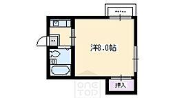 ファミール太田[2階]の間取り