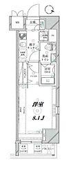グランスタイル浅草[9階]の間取り