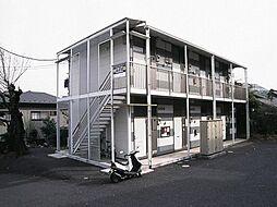 東京都八王子市山田町の賃貸アパートの外観
