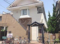 大阪府大阪市旭区清水4丁目の賃貸アパートの外観