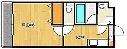 ソフィー[2階]の間取り