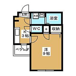 メゾン・サクセス[4階]の間取り