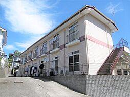 茨城県日立市西成沢町3丁目の賃貸アパートの外観