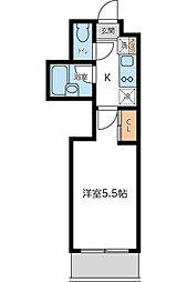 KWプレイス東小金井 4月申込キャンペーン[308号室]の間取り
