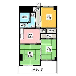 降旗ビル[3階]の間取り