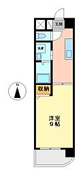 エクセルシオール栄[7階]の間取り