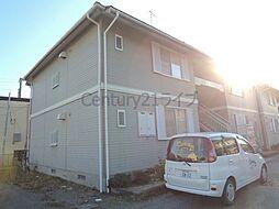 兵庫県宝塚市山本中3丁目の賃貸アパートの外観