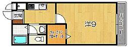 メルべーユ祥[2階]の間取り