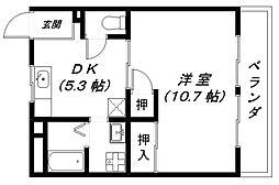 ヌーベルハウスI[2階]の間取り