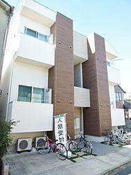 愛知県名古屋市昭和区北山町1丁目の賃貸アパートの外観