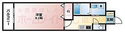 メゾン フルールⅢ[1階]の間取り