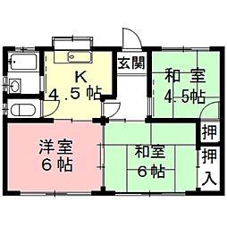 [一戸建] 岐阜県瑞穂市穂積 の賃貸【/】の間取り
