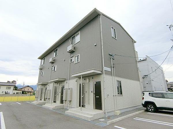 長野県長野市稲葉の賃貸アパート