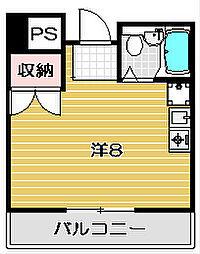 茨木ロイヤル[5階]の間取り