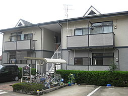 愛知県弥富市鯏浦町中六の賃貸アパートの外観