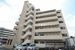 岡山県岡山市中区清水1丁目の賃貸マンションの外観