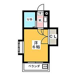 アストリー21[2階]の間取り