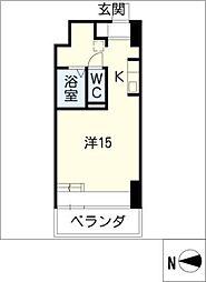 S−FORT六番町[4階]の間取り