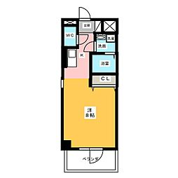 サン・名駅太閤ビル[3階]の間取り