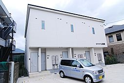 福岡県北九州市小倉北区上富野2丁目の賃貸アパートの外観