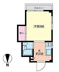 コスモAoi湘南2[501号室]の間取り