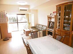 3SLDKの居間