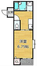 メゾンドオーブII[2階]の間取り