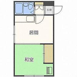 グランドマンション[3階]の間取り