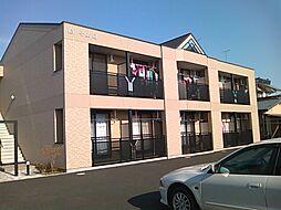 茨城県水戸市若宮2丁目の賃貸アパートの外観