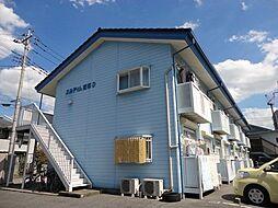 栃木県宇都宮市元今泉2丁目の賃貸アパートの外観