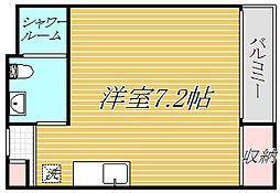Glanberry八広[1階]の間取り