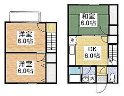 レークサイド2[2階]の間取り