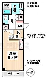 愛知県名古屋市南区鳥栖1丁目の賃貸マンションの間取り