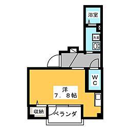 オラシオン人宿町[2階]の間取り