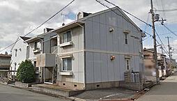 兵庫県加古川市別府町西町の賃貸アパートの外観