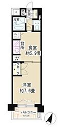 磯子南パーク・ホームズ[1階]の間取り