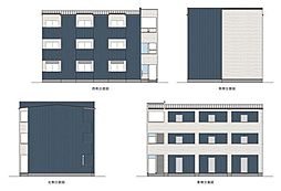 兵庫県尼崎市潮江3丁目の賃貸アパートの外観