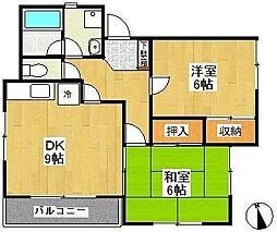 トレド原宿D棟[1階]の間取り