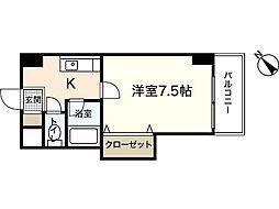 サンコーポ横川[5階]の間取り