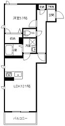 (仮称)港南中央マンション[303号室]の間取り