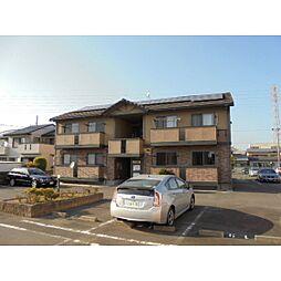 静岡県浜松市中区住吉3丁目の賃貸アパートの外観