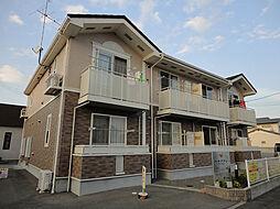 愛媛県松山市小栗2丁目の賃貸アパートの外観