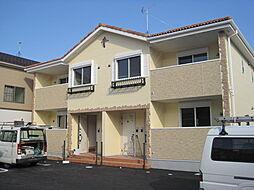 ケレンシアA・B[2階]の外観