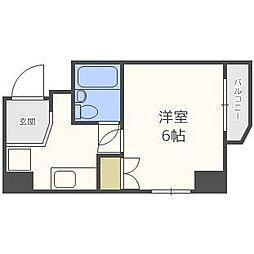 ホワイト4・6ビル[4階]の間取り