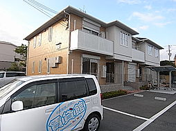 兵庫県姫路市宮上町2丁目の賃貸アパートの外観