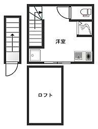 サークルハウス江古田壱番館[207号室]の間取り