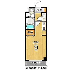 エクセルコ−ト[5階]の間取り